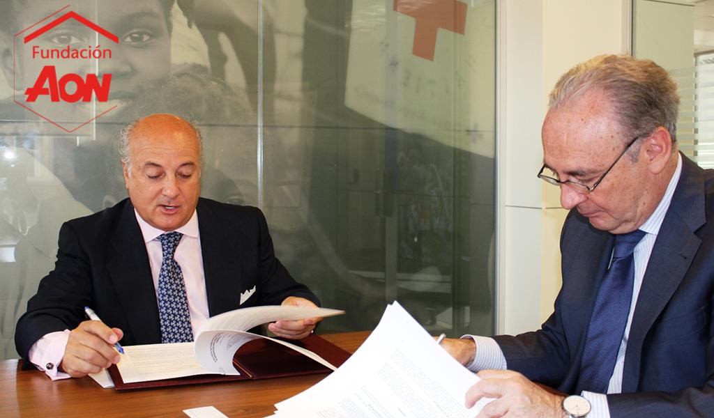 Fundación Aon España y Cruz Roja Española