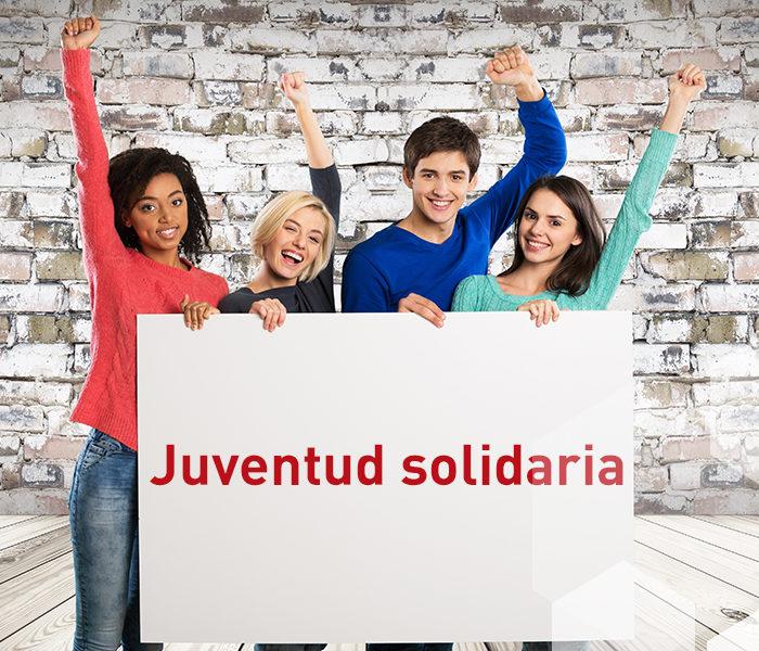 Juventud solidaria ¡Claro que sí!