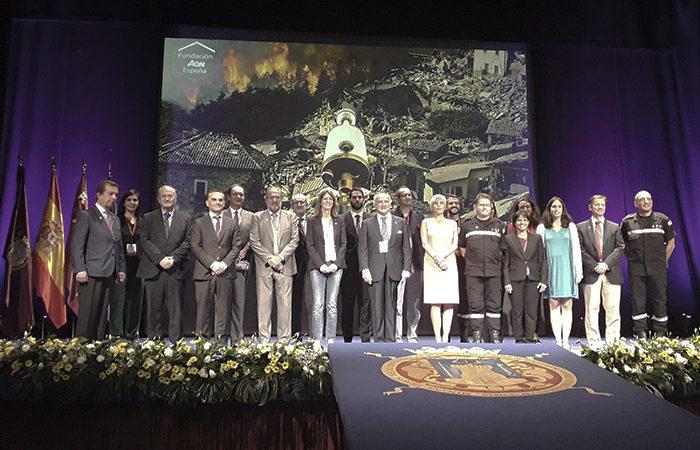 La UME recibe la Distinción 2017 del Observatorio de Catástrofes de la Fundación Aon