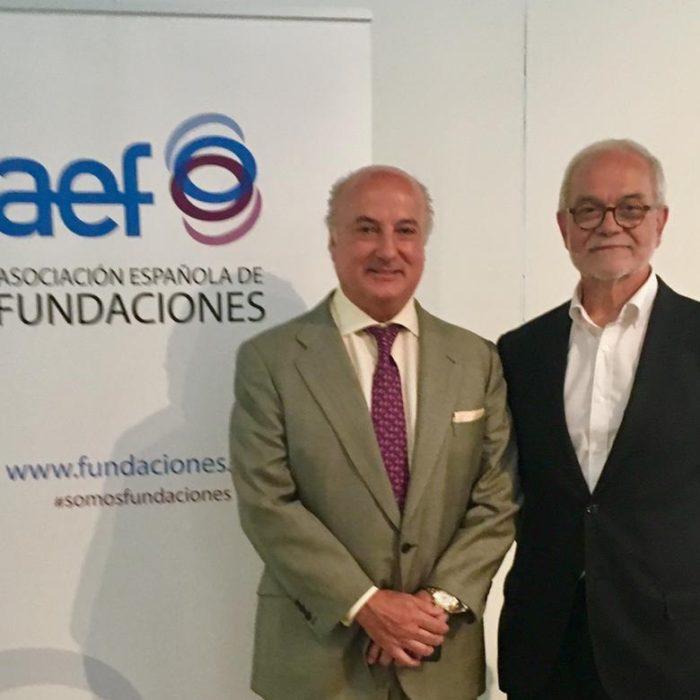Pedro Tomey se incorpora a la Junta Directiva de la Asociación Española de Fundaciones