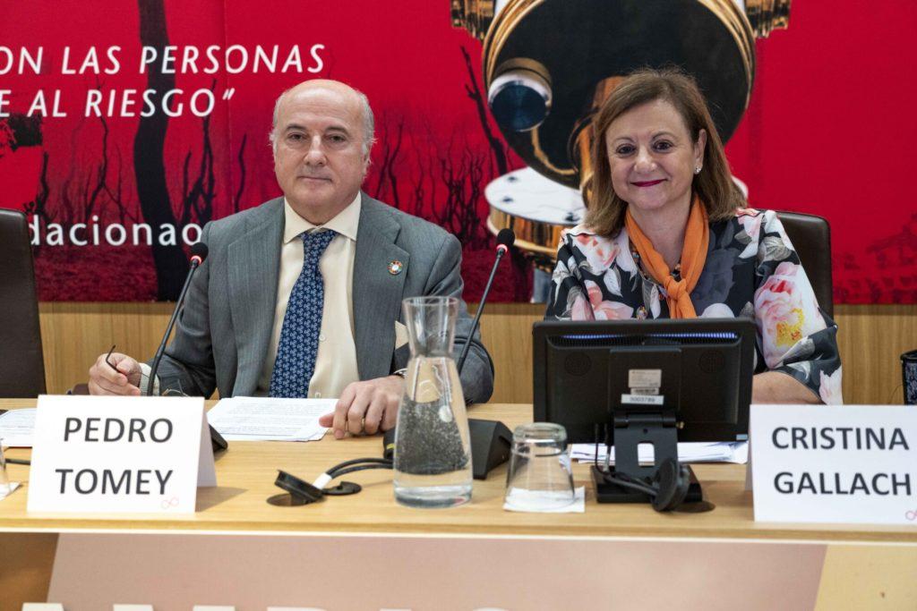 Pedro Tomey y Cristina Gallach