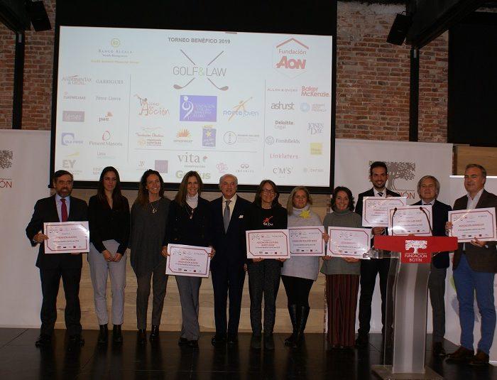 El Torneo Benéfico Golf & Law rinde homenaje a Celia Barquín y reparte 20.000€ entre 7 proyectos solidarios