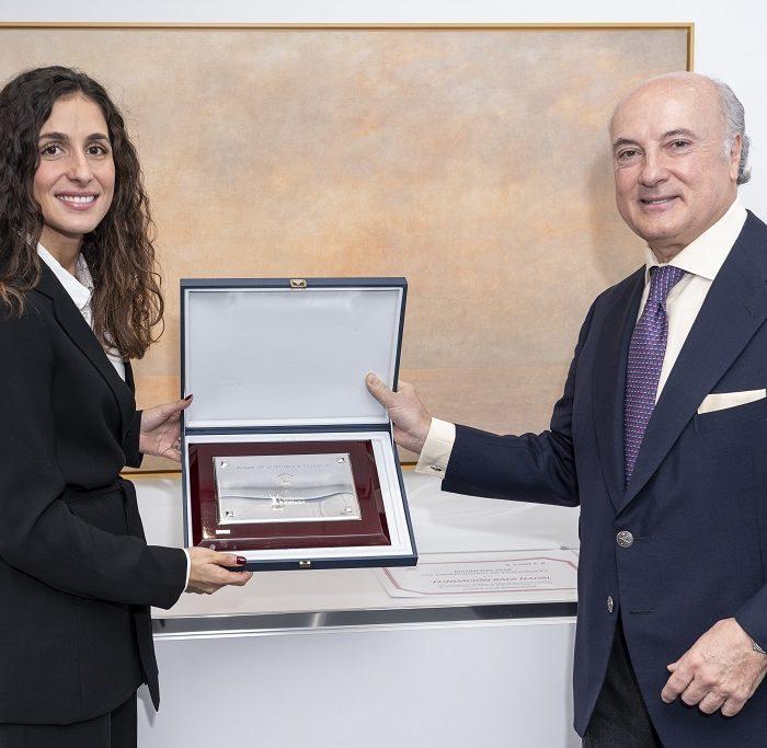 La Fundación Rafa Nadal recibe la Distinción 2018 del               Observatorio de Catástrofes de la Fundación Aon España