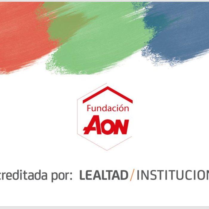 La Fundación Aon España, acreditada en transparencia y buenas prácticas por Lealtad Instituciones