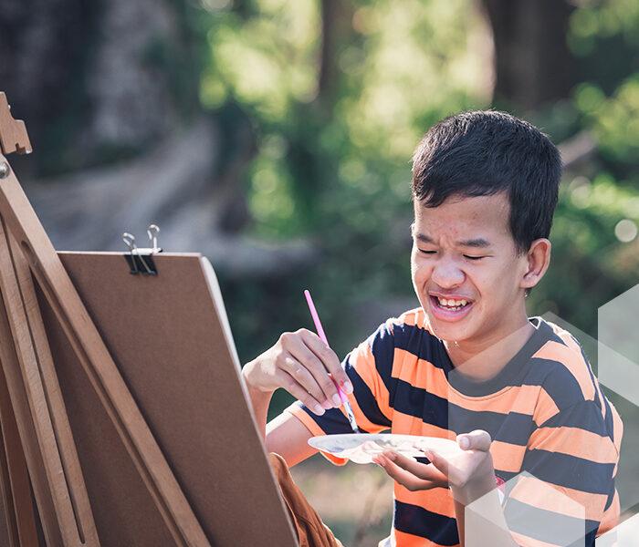 El efecto beneficioso del arte en las personas con discapacidad