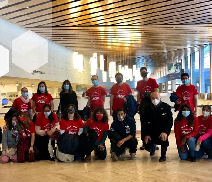 La Fundación Aon España acerca el arte a personas con otras capacidades