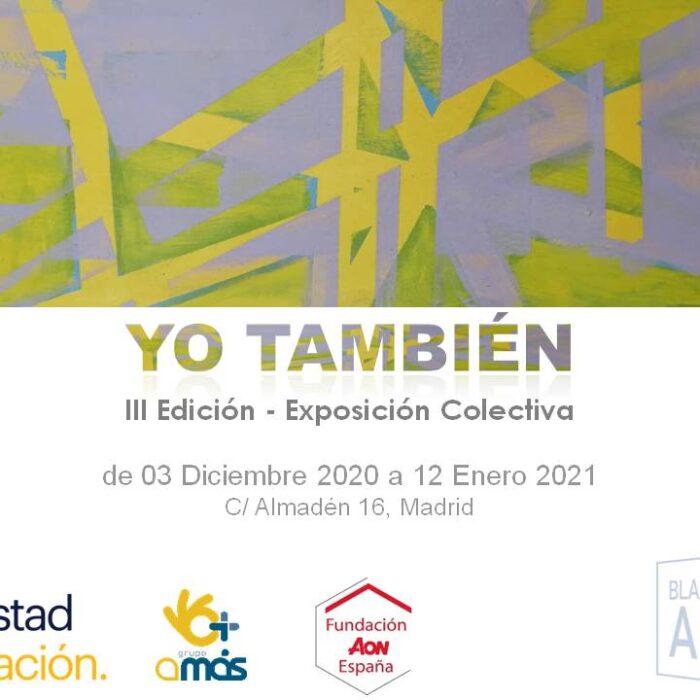 """Artistas con otras capacidades demuestran su talento en la tercera exposición de arte inclusivo """"Yo también"""""""