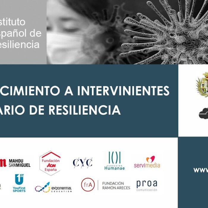 FAE colabora con el Instituto Español de Resiliencia en la divulgación y promoción de la Resiliencia
